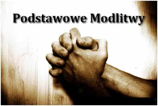 modlitwy podstawowe